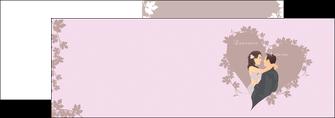 creation graphique en ligne depliant 2 volets  4 pages  mariage carte mariage carte  de mariage MIS17684