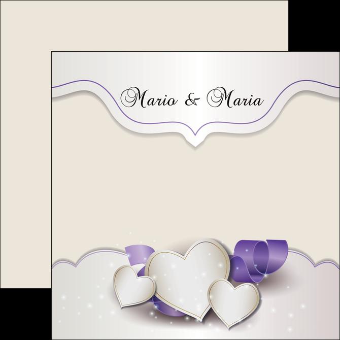 imprimerie flyers mariage faire part mariage faire part de mariage MIS17832