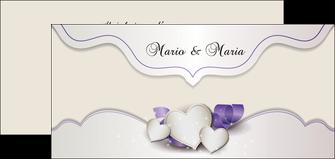 personnaliser modele de flyers mariage faire part mariage faire part de mariage MIS17834