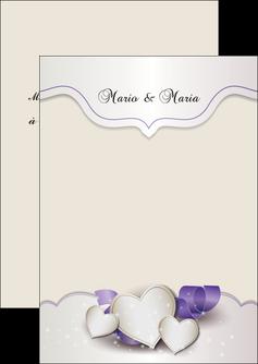 exemple flyers mariage faire part mariage faire part de mariage MIS17840