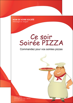 impression flyers pizzeria et restaurant italien pizza pizzeria restaurant pizza MLGI18752