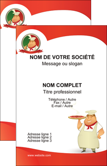 Carte De Visite Pour Pizzeria