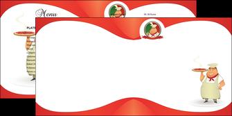 creer modele en ligne depliant 2 volets  4 pages  pizzeria et restaurant italien pizza pizzeria restaurant pizza MLGI18760