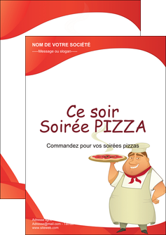 creation graphique en ligne flyers pizzeria et restaurant italien pizza pizzeria restaurant pizza MLGI18764