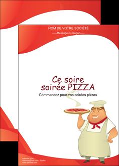 modele affiche pizzeria et restaurant italien pizza pizzeria restaurant pizza MLGI18768