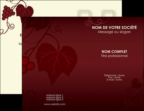 Exemple Carte De Visite Vin Commerce Et Producteur Vigne Vignoble MLGI18804
