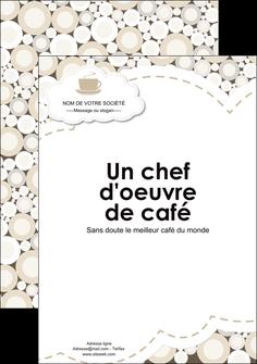 maquette en ligne a personnaliser affiche bar et cafe et pub salon de the buvette brasserie MLGI18844