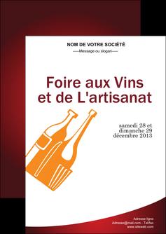 modele en ligne flyers vin commerce et producteur magasin de vin cave a vin producteur de vin MLIG19014