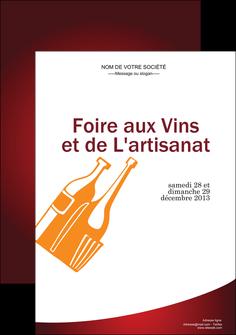 creer modele en ligne affiche vin commerce et producteur magasin de vin cave a vin producteur de vin MLIG19016