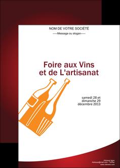 realiser affiche vin commerce et producteur magasin de vin cave a vin producteur de vin MLIG19018