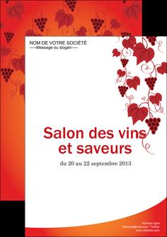 imprimerie affiche vin commerce et producteur raisins grappe de raisins culture de raisins MLIG19022