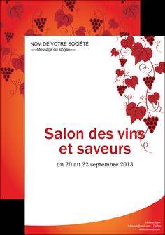 imprimerie affiche vin commerce et producteur raisins grappe de raisins culture de raisins MLIG19024