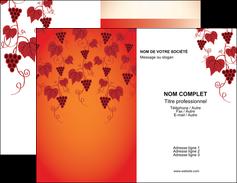 faire modele a imprimer carte de visite vin commerce et producteur raisins grappe de raisins culture de raisins MLGI19030