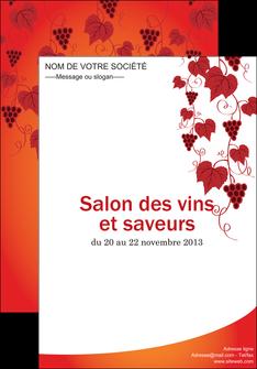imprimer affiche vin commerce et producteur raisins grappe de raisins culture de raisins MLIG19042