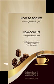 imprimer carte de visite bar et cafe et pub cafe tasse de cafe bistro MLGI19098