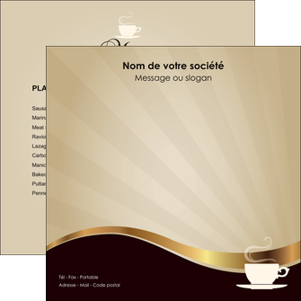 creation graphique en ligne flyers bar et cafe et pub cafe tasse de cafe bistro MLGI19100