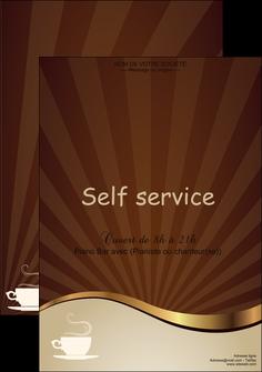 imprimerie affiche bar et cafe et pub cafe tasse de cafe bistro MLGI19108
