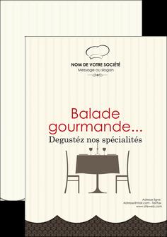 modele en ligne flyers restaurant restaurant restauration restaurateur MIF19210