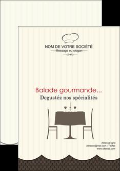 realiser affiche restaurant restaurant restauration restaurateur MIF19228