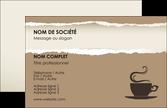 impression carte de visite bar et cafe et pub cafe salon de the cafeteria MLGI19697
