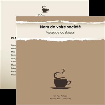 imprimer flyers bar et cafe et pub cafe salon de the cafeteria MLGI19702