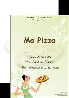 realiser affiche pizzeria et restaurant italien pizza plateau plateau de pizza MLGI19764