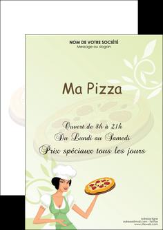 impression flyers pizzeria et restaurant italien pizza plateau plateau de pizza MLGI19778