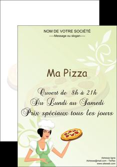imprimerie affiche pizzeria et restaurant italien pizza plateau plateau de pizza MLGI19782
