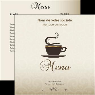 creation graphique en ligne flyers bar et cafe et pub salon de the buvette brasserie MLGI19798