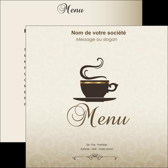 creation graphique en ligne flyers bar et cafe et pub salon de the buvette brasserie MLGI19802