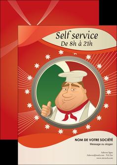 modele en ligne flyers pizzeria et restaurant italien pizza plateau plateau de pizza MLGI19870
