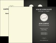 maquette en ligne a personnaliser carte de visite restaurant restaurant restaurant du monde restaurant francais MLGI19886
