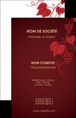 creation graphique en ligne carte de visite vin commerce et producteur raisins grappe de raisins culture de raisins MLGI19907
