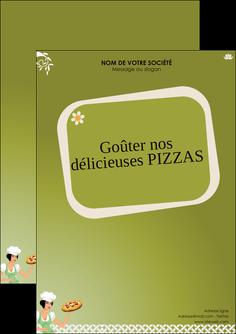 realiser flyers pizzeria et restaurant italien pizza plateau plateau de pizza MLGI20280