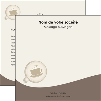 imprimer flyers bar et cafe et pub cafe salon de the cafe chaud MLGI20336