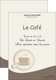 faire flyers bar et cafe et pub cafe salon de the cafe chaud MLGI20340