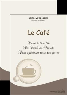 faire flyers bar et cafe et pub cafe salon de the cafe chaud MLGI20340