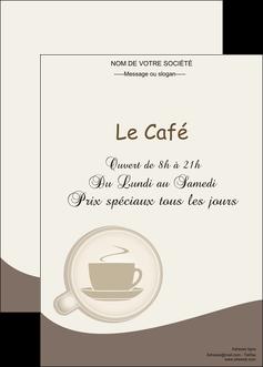 realiser affiche bar et cafe et pub cafe salon de the cafe chaud MLGI20346