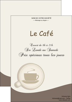 cree affiche bar et cafe et pub cafe salon de the cafe chaud MLGI20348