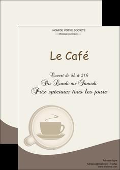 cree affiche bar et cafe et pub cafe salon de the cafe chaud MLGI20348