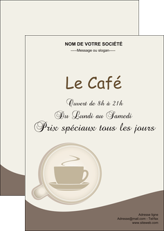 faire flyers bar et cafe et pub cafe salon de the cafe chaud MLGI20350