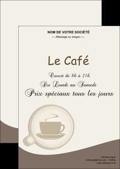 faire flyers bar et cafe et pub cafe salon de the cafe chaud MLGI20350