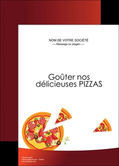 faire modele a imprimer affiche pizzeria et restaurant italien pizza pizzeria service pizza MLGI20378