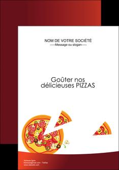 faire modele a imprimer affiche pizzeria et restaurant italien pizza pizzeria service pizza MLGI20380