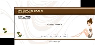 faire modele a imprimer carte de correspondance institut de beaute beaute esthetique institut de bien etre MLGI20692