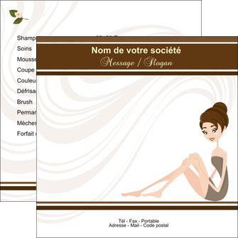 modele en ligne flyers institut de beaute beaute esthetique institut de bien etre MLGI20694