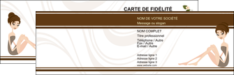 creer modele en ligne carte de visite institut de beaute beaute esthetique institut de bien etre MLGI20698