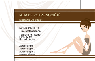 modele carte de visite institut de beaute beaute esthetique institut de bien etre MLGI20700