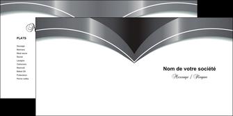 faire depliant 2 volets  4 pages  texture structure contexture MIF20812