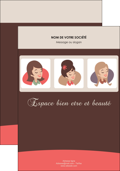 faire flyers institut de beaute beaute femme beaute feminine MLGI20830